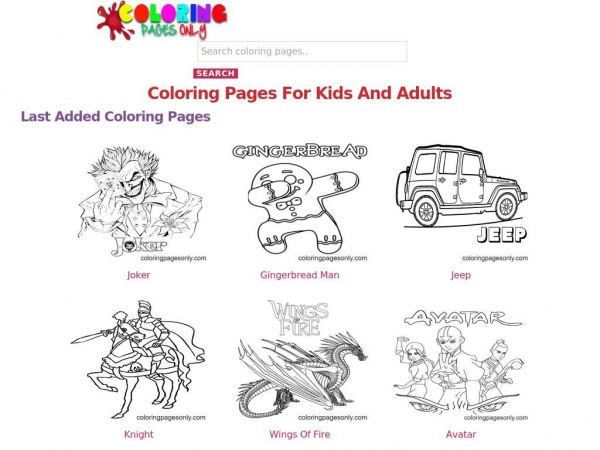 coloringpagesonly.com