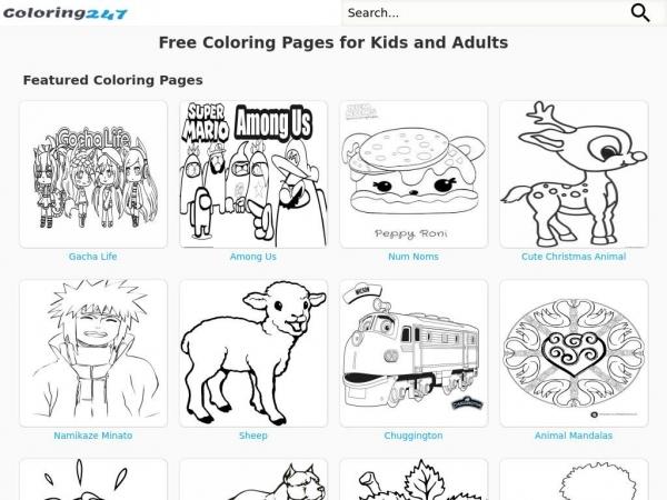 coloring247.com